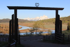 Horseback riding at Western Guest Ranch near Jackson Hole and Yellowstone