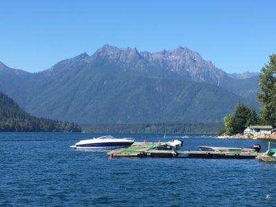 Lake Cushman, Washington State