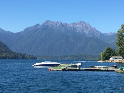Lake Cushman, Washington State