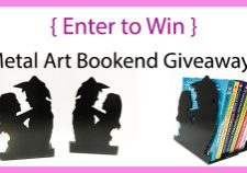 Bookend giveaway
