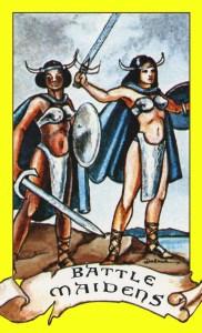 Battle Maidens within Jasmine's Faction.