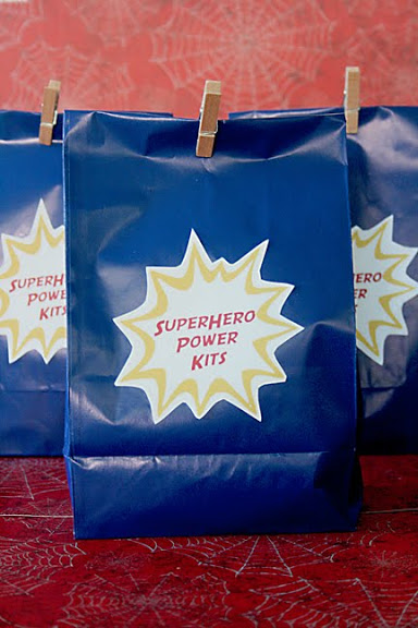 Superhero Goodie Bag