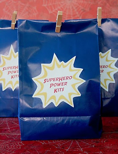 Superhero Goodie Bag