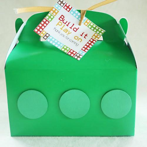 Lego Party: Party Favors