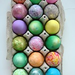 Easter Egg Decorating Table