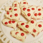 Peppermint White Chocolate Hearts