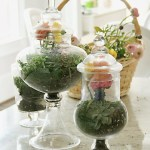 How to Create Floral Terrariums