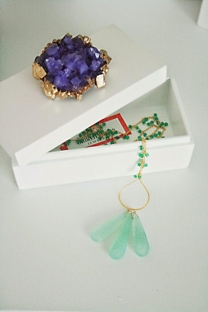 Crystal-Top Jewelry Box - Darling Darleen | A Lifestyle Design Blog