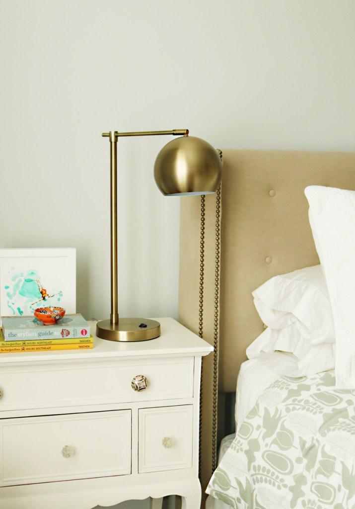 modern task lamp bedside target table