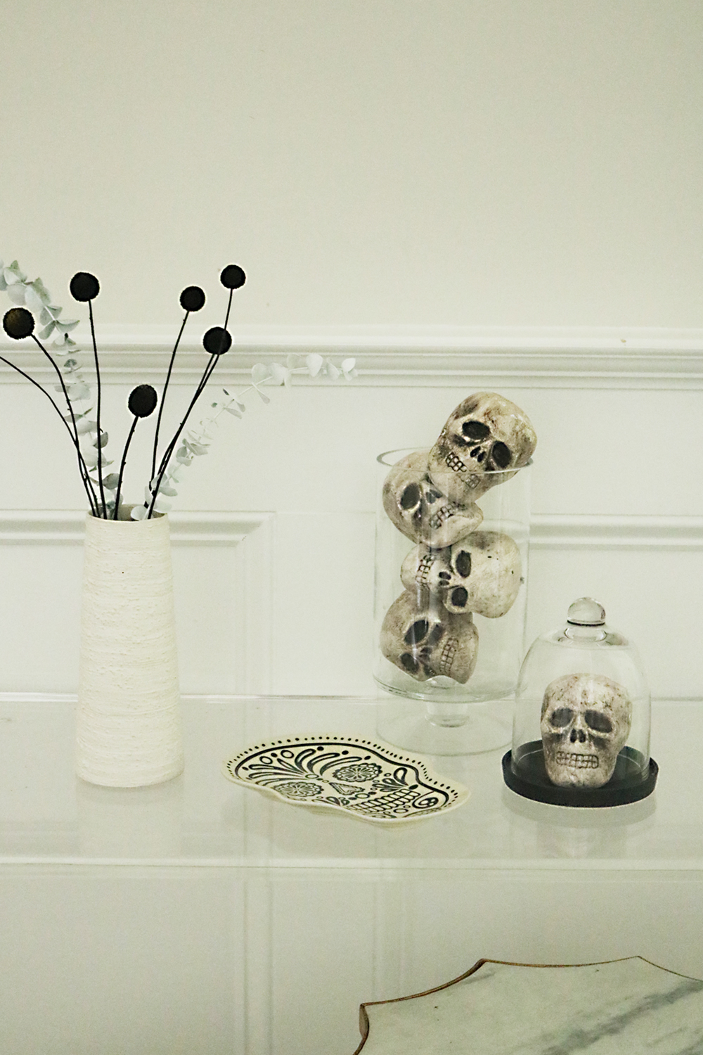 modern_halloween_decorations_skeleton simple and easy modern halloween decorations