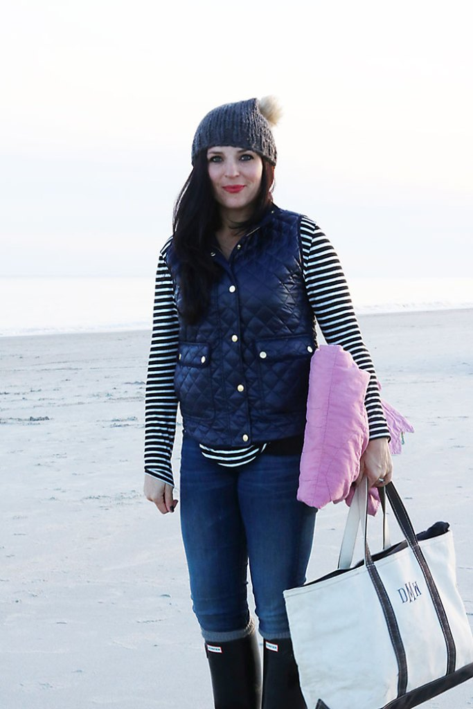 casual beach outfit fall winter