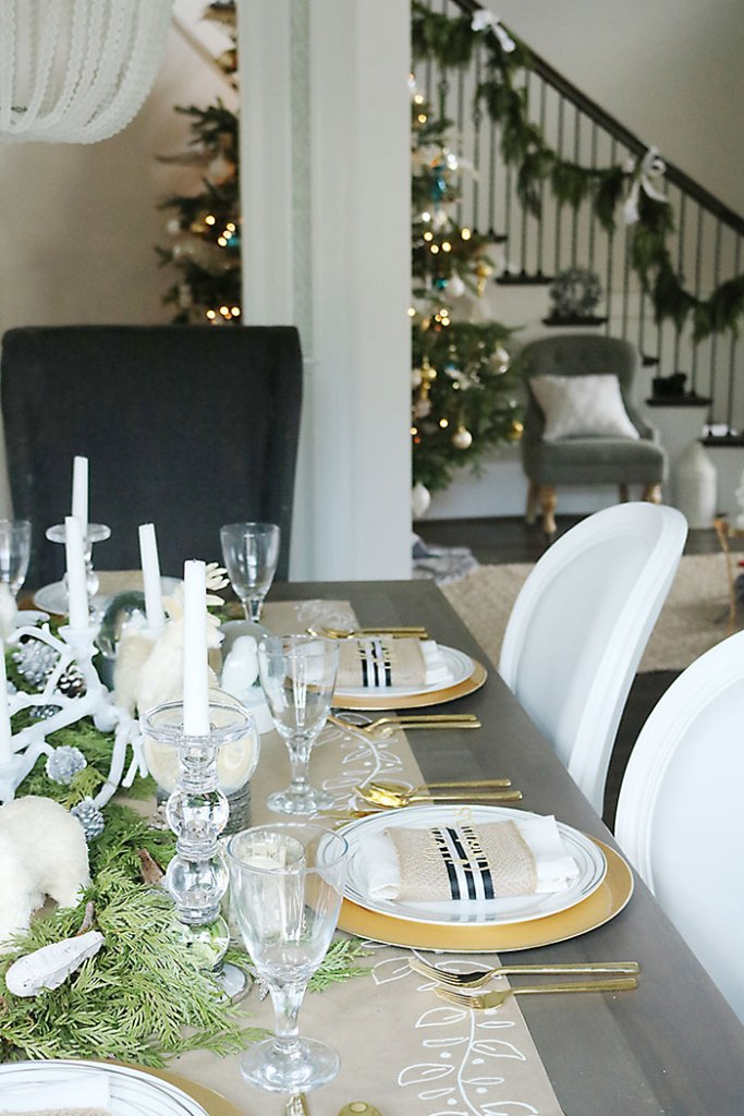 christmas-table-decorations-simple-tree