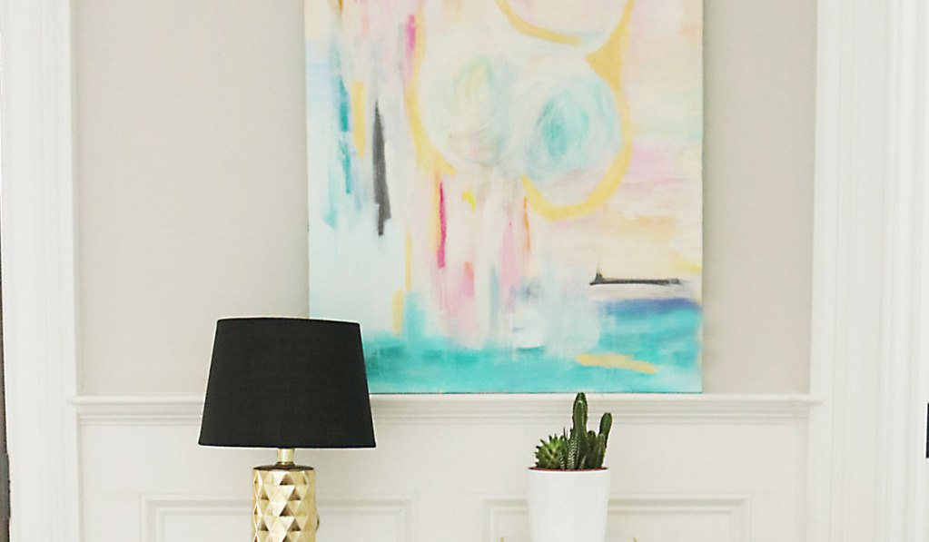 DIY Abstract Art Painting: Anyone Can be an Artist