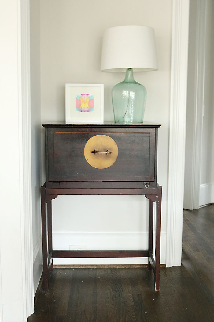how to paint furniture without sanding before pic darling darleen a lifestyle design blog. Black Bedroom Furniture Sets. Home Design Ideas