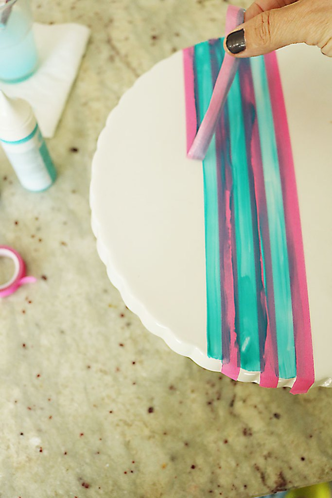 DIY-painted-ceramics-take-tape-off