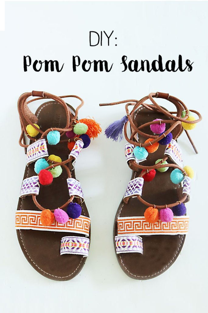 DIY-pom-pom-sandals-words