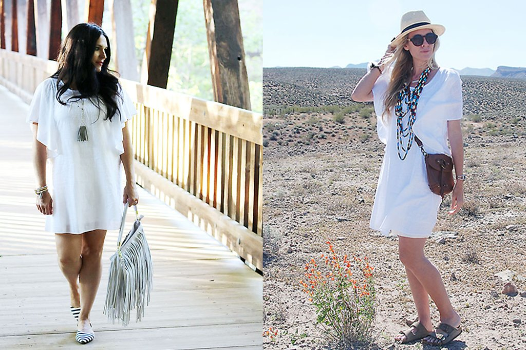 this-way-that-way-flutter-sleeve-dress, old navy dress, desert photoshot, what i wore, white summer dress, Summer style, flutter sleeves, fringe ,darleen meier jewelry