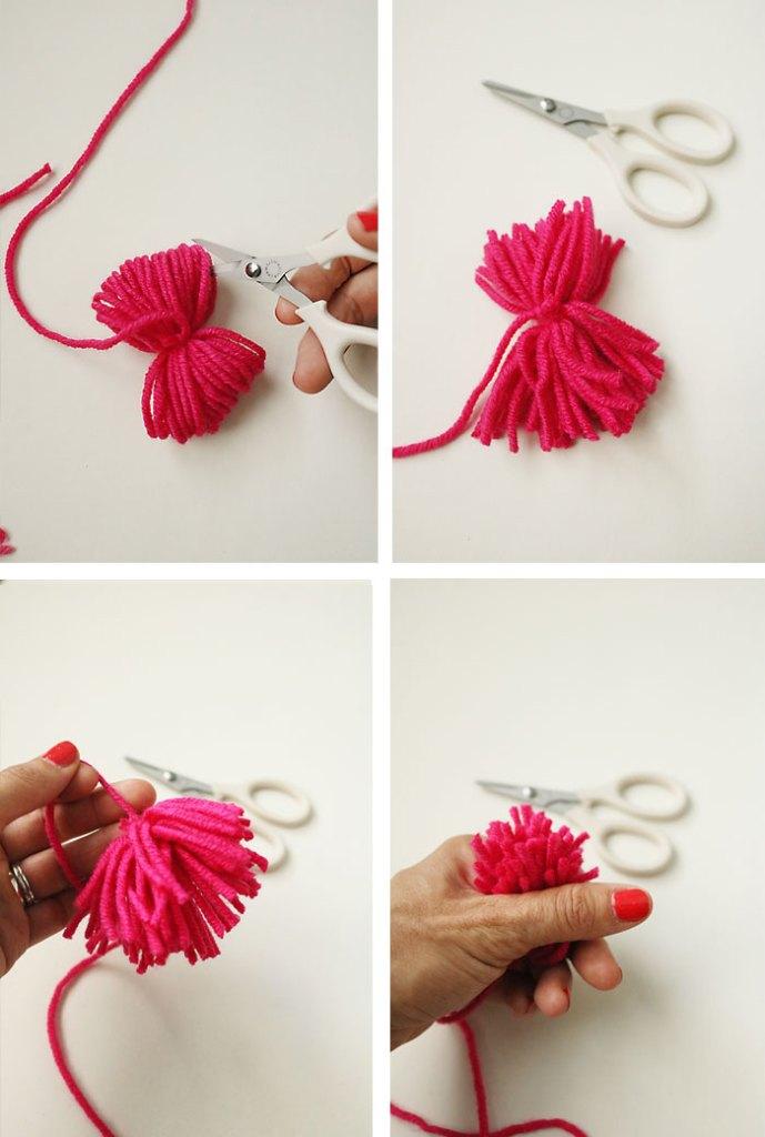 diy-pom-pom-yarn-bag-step3