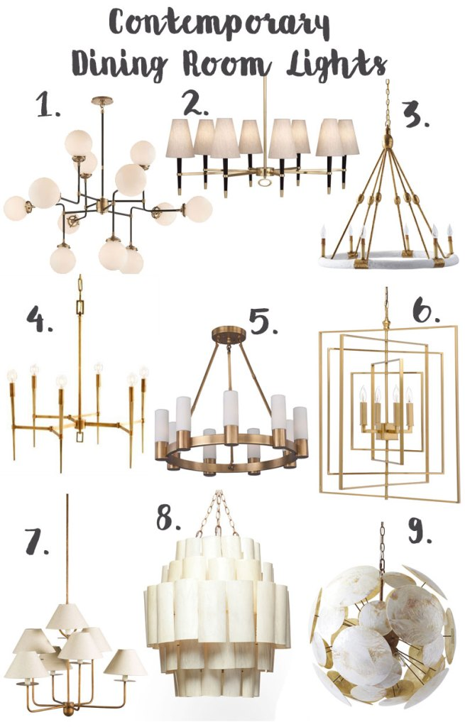 modern-contemporary-dining-room-light, modern light fixtures, restoration hardware light fixture, jonathan adler light fixture, dining room lights, gold brass light fixture, chandelier dining room lights, arm dining room light fixture