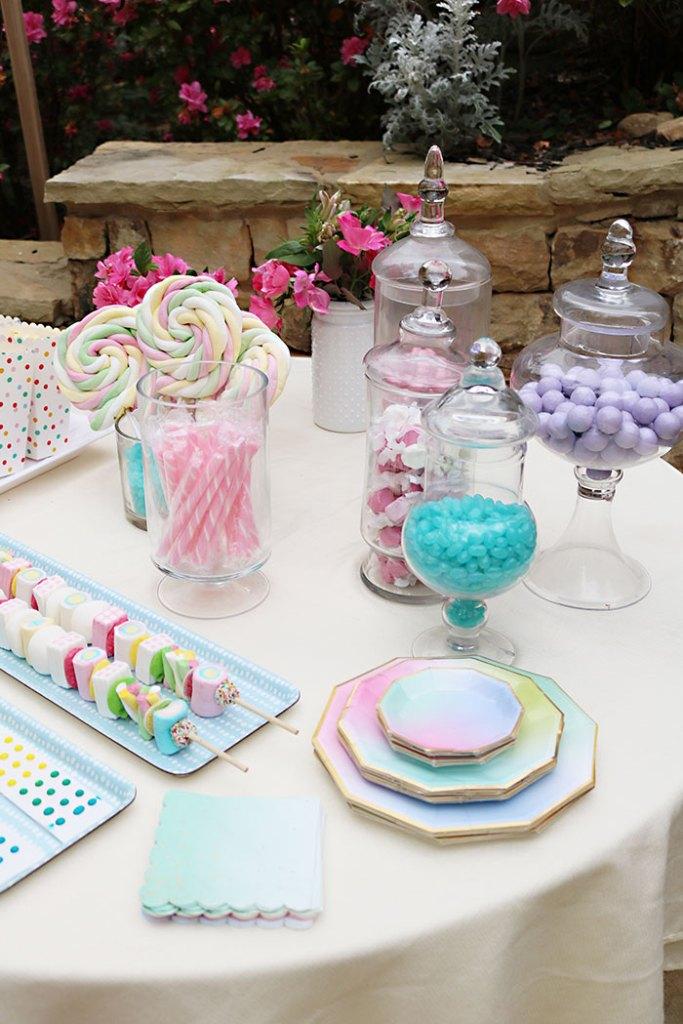 boho-birthday-candy-table