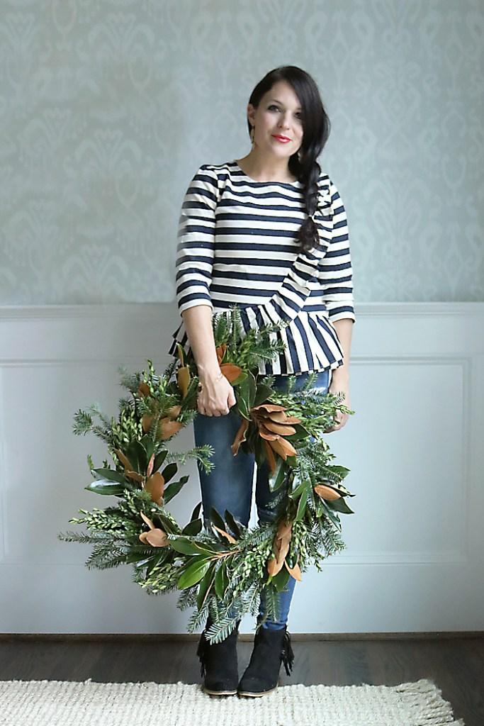 magnolia-wreath-diy-holiday