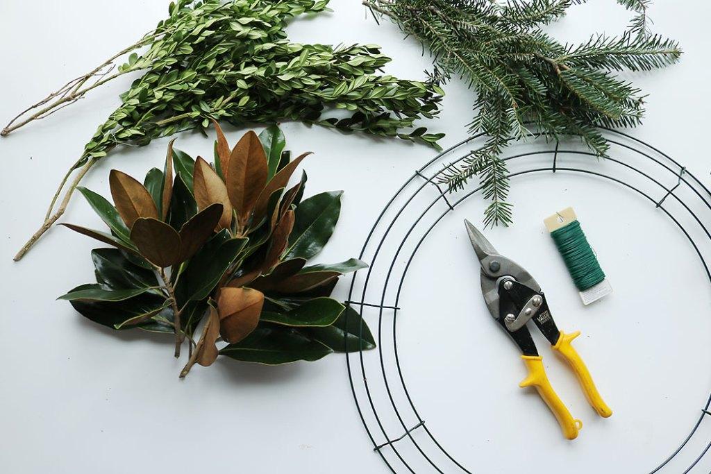 magnolia-wreath-supplies