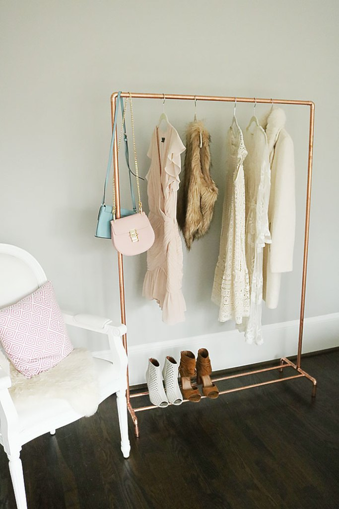 Diy Copper Clothing Rack Darling Darleen A Lifestyle