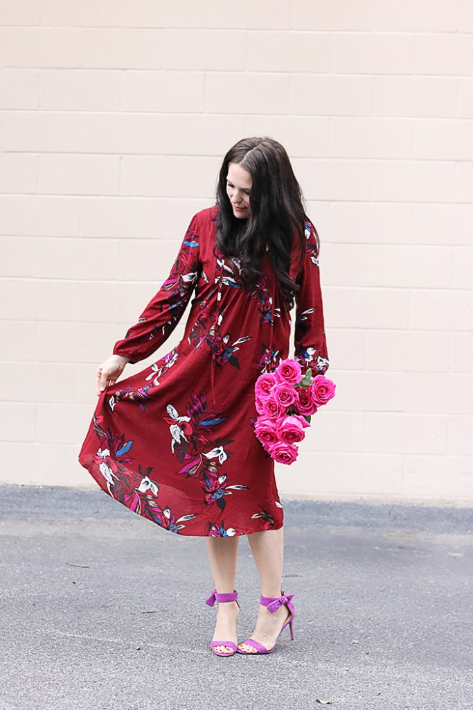 Valentine Boho Chic Outfit Darling Darleen A Lifestyle