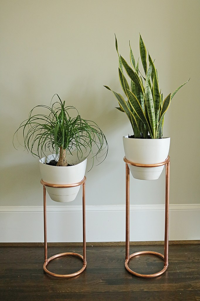 Diy Copper Round Plant Stand Darling Darleen A