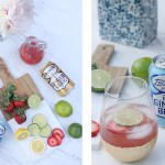 Strawberry Lime Moscow Mule Mocktail