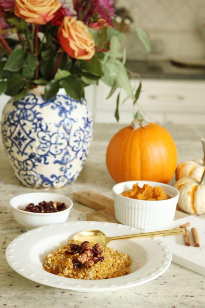 healthy pumpkin breakfast ideas, pumpkin recipes, pumpkin for breakfast, recipe ideas, pumpkin protein pancakes, pumpkin steel cut oats, pumpkin protein shake, puree pumpkin, healthy breakfast ideas, diet