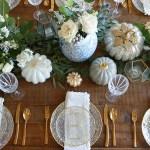 Elegant Thanksgiving Table Setting