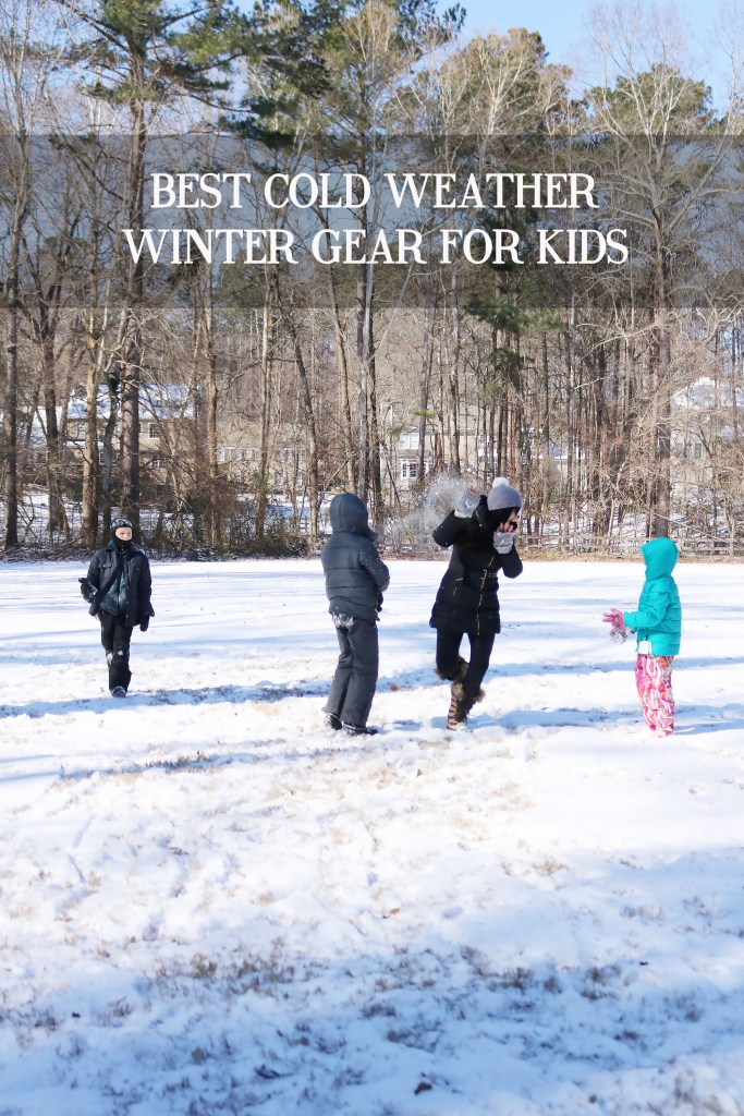 Best Cold Weather Winter Gear for Kids || Darling Darleen