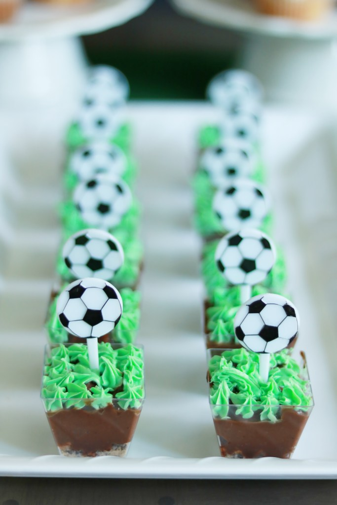 Sports Themed Birthday Party, Soccer Pudding Dessert || Darling Darleen