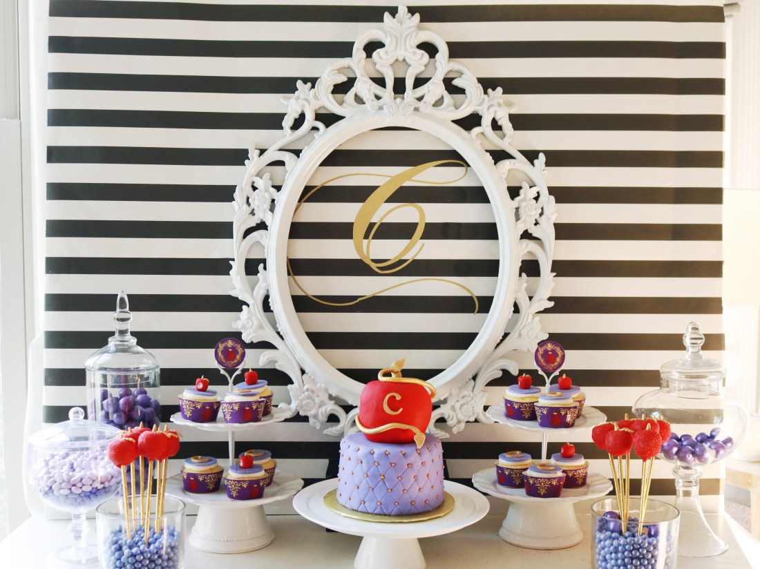 Disney's Descendants Birthday Party + Free Printables