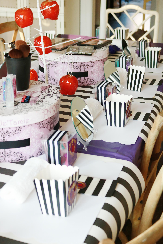 Descendants Birthday Make Up Party    Darling Darleen