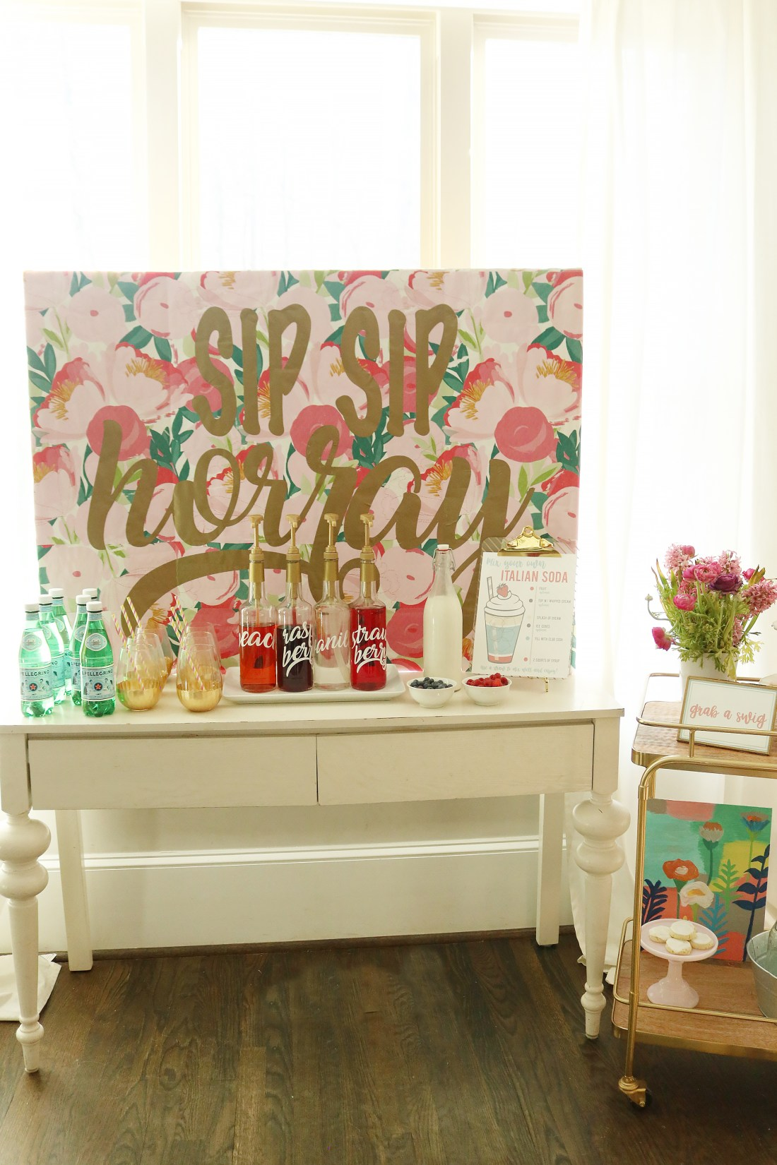 Italian Soda Bar + Free Printable || Darling Darleen