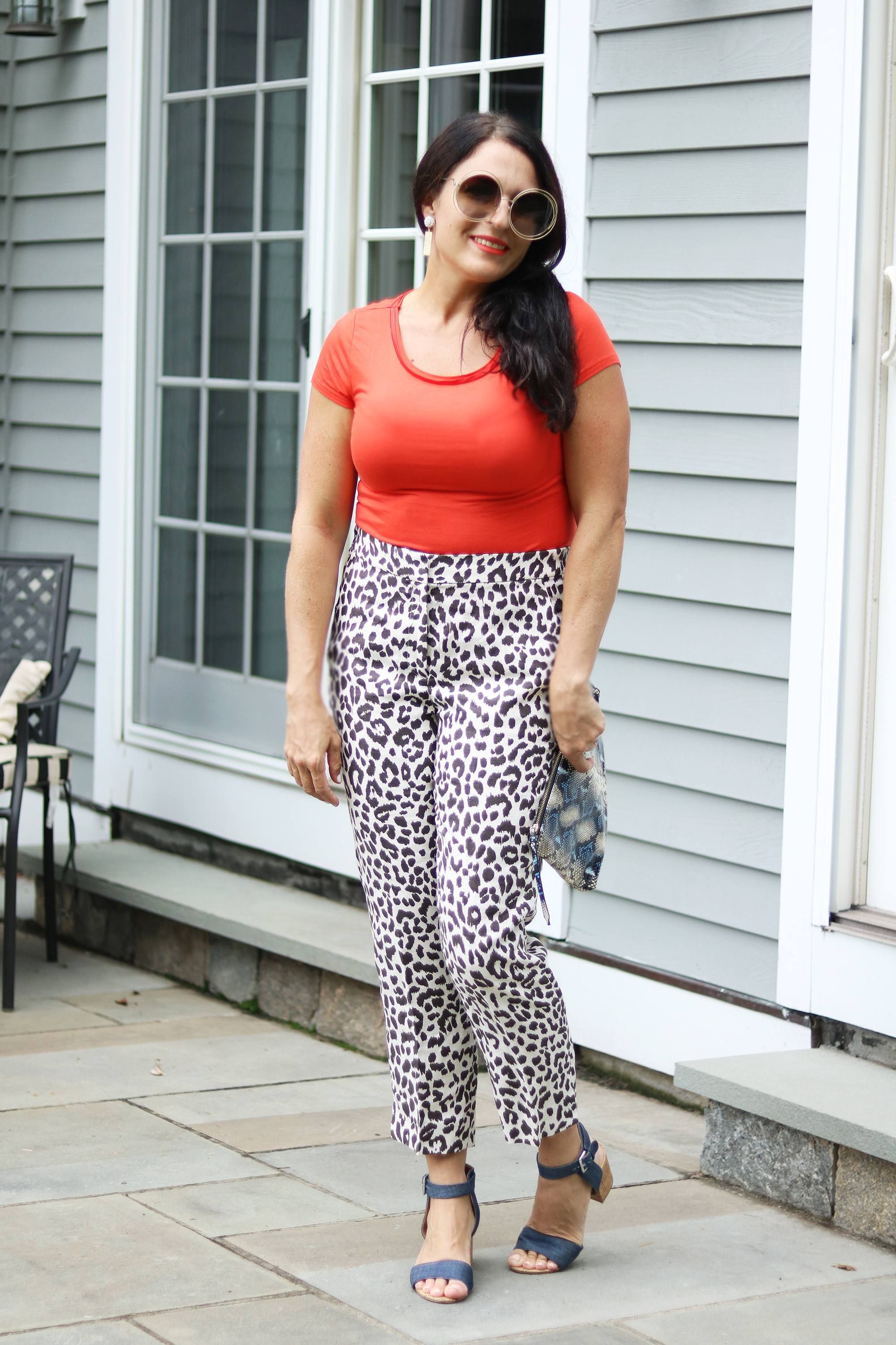 New England Fall Activities plus favorite leopard print Styles || Darling Darleen #darlingdarleen #leopardprint #falloutfit