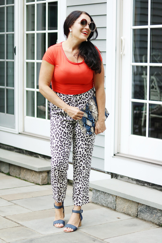 New England Fall Activities plus favorite leopard print Styles || Darling Darleen #darlingdarleen #leopardprint #falloutfit