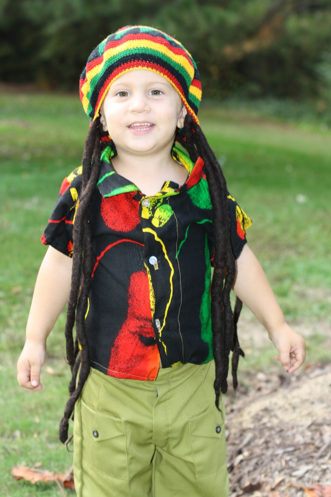 Best Halloween Costumes for Family and Kids, Bob Marley kid costume, Best Homemade Costumes || Darling Darleen