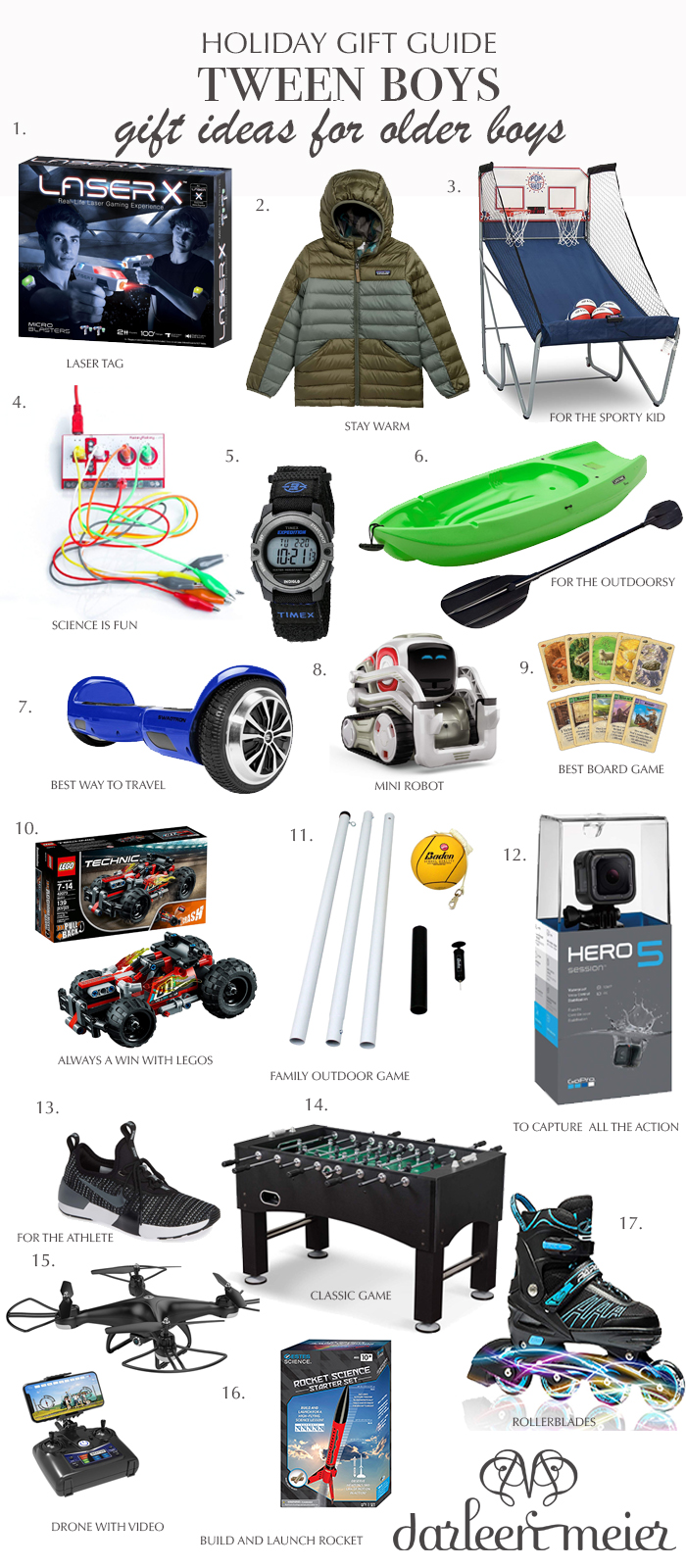 HOLIDAY GIFT GUIDE FOR TWEEN BOY