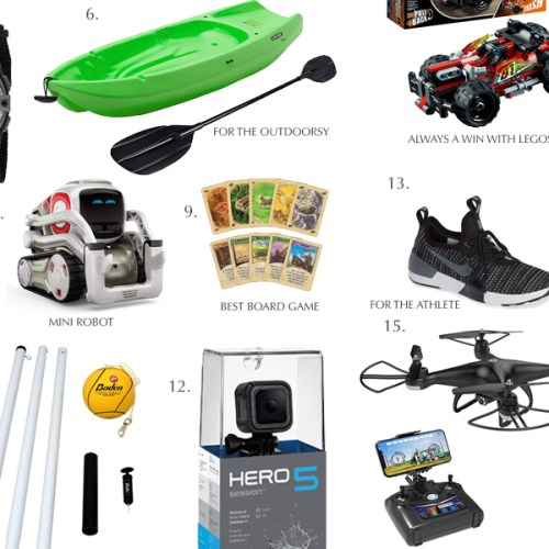 Holiday Gift Guide for Teen Boys