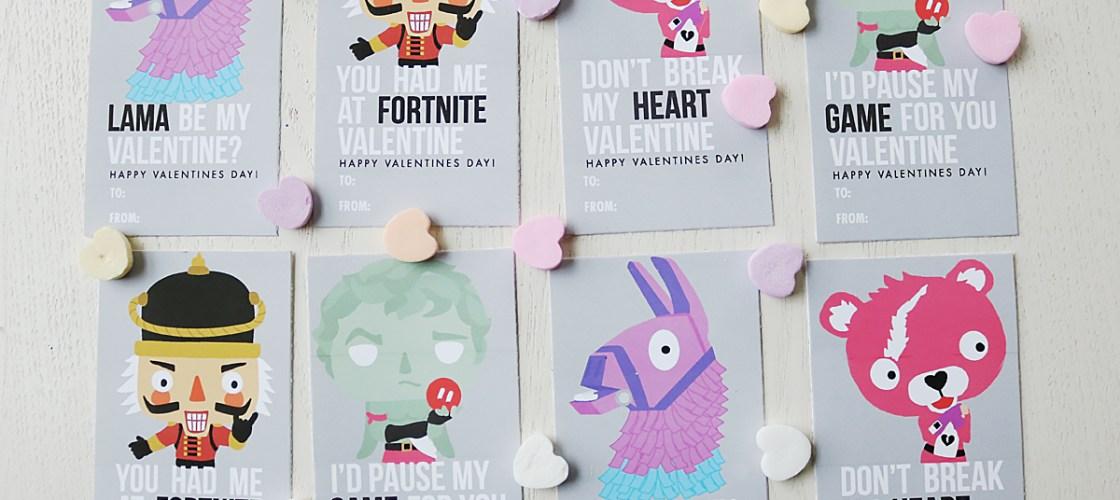 Fortnite Valentine Printable