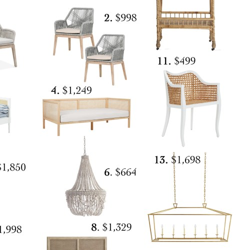 Home Trends Woven + Cane