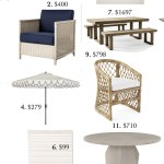 Splurge vs. Save: Outdoor Furniture