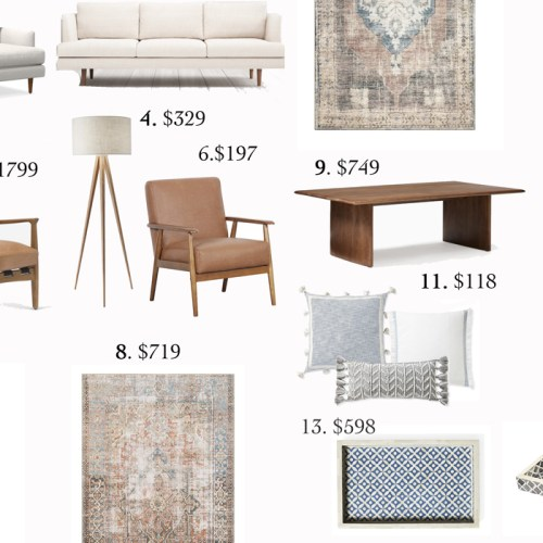 Splurge Vs Save: Neutral Living Room
