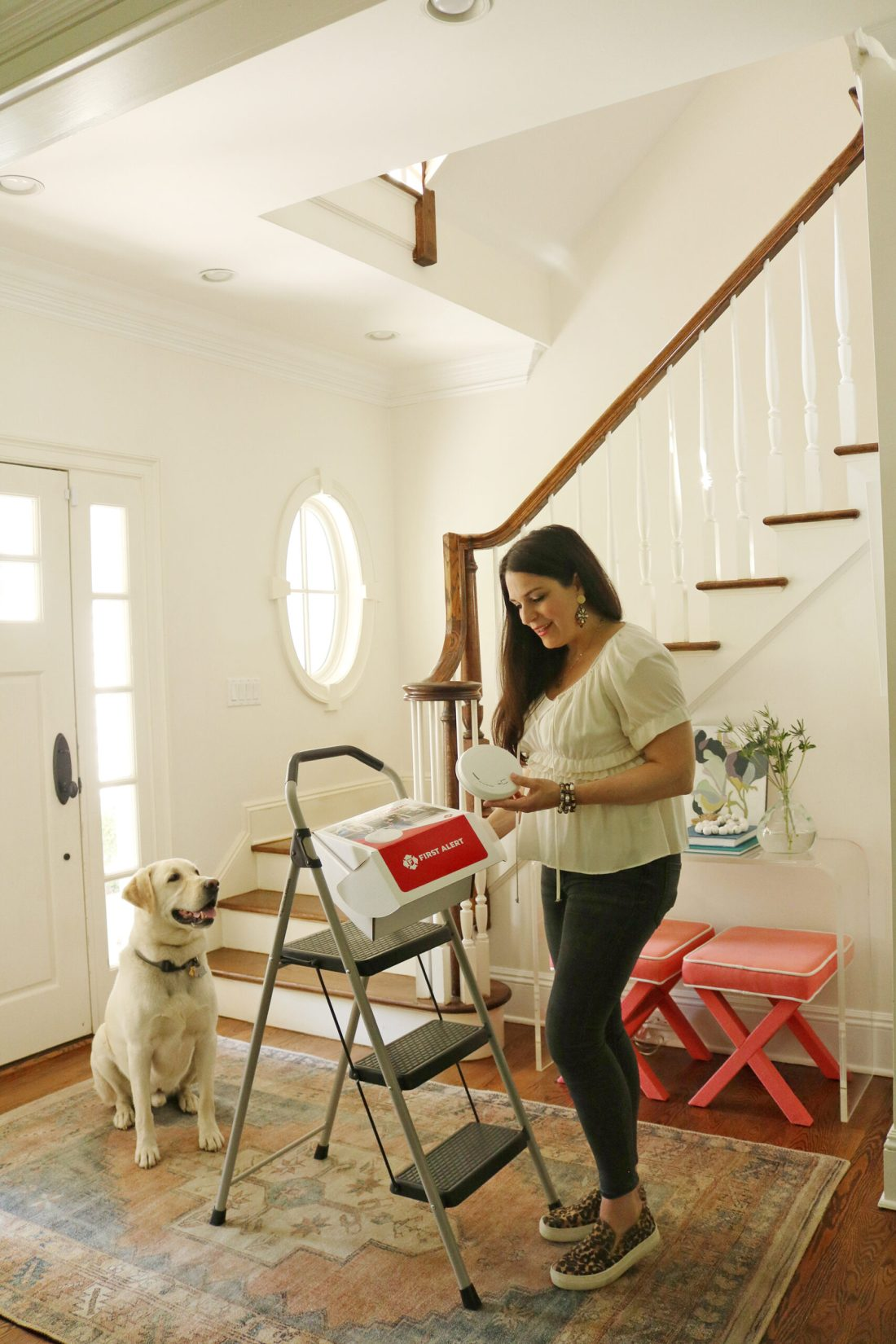 5 Quick Home Maintenance Tips with First Alert to keep your home safe and protected from smoke and carbon monoxide.   @FirstAlert #TimeToReplace #FirstAlert #ad