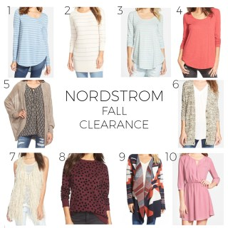 nordstrom fall clearance picks