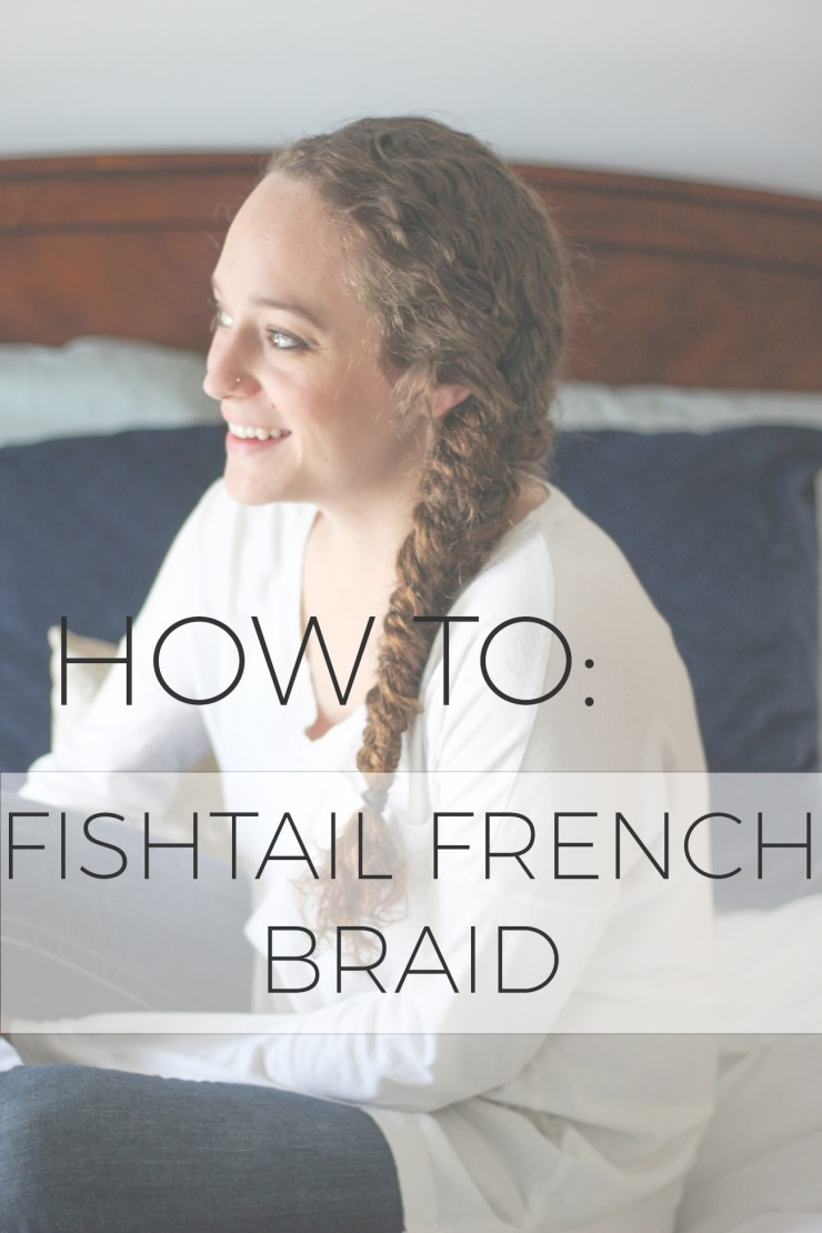 fishtail braid, curly hair, #wholeblends #ad