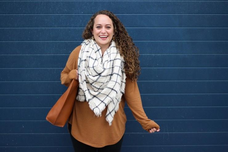 camel-tunic-grid-blanket-scarf-5